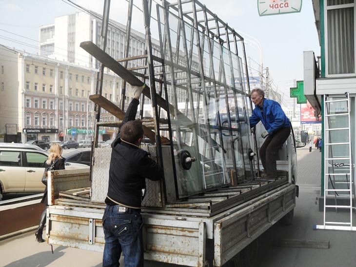 Аварийное остекление в Санкт-Петербурге