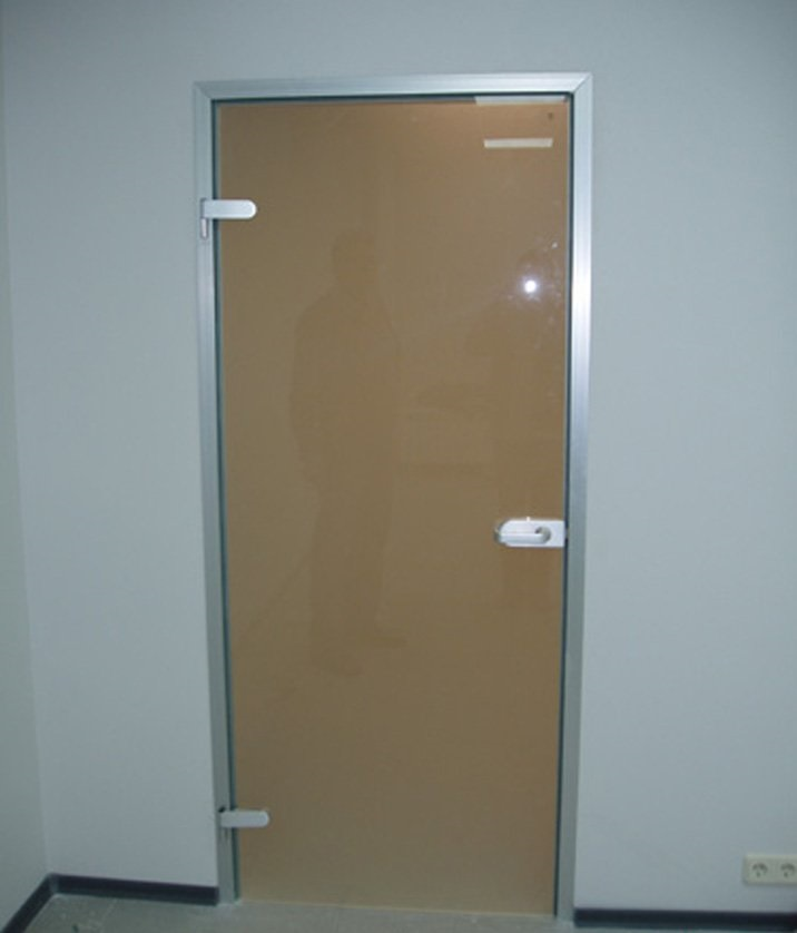 Купить стеклянные двери недорого