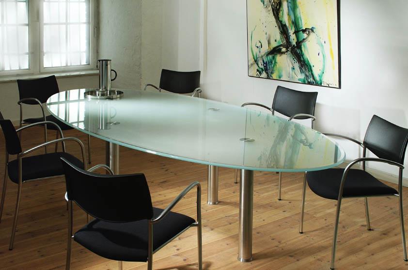 Купить столы из стекла недорого