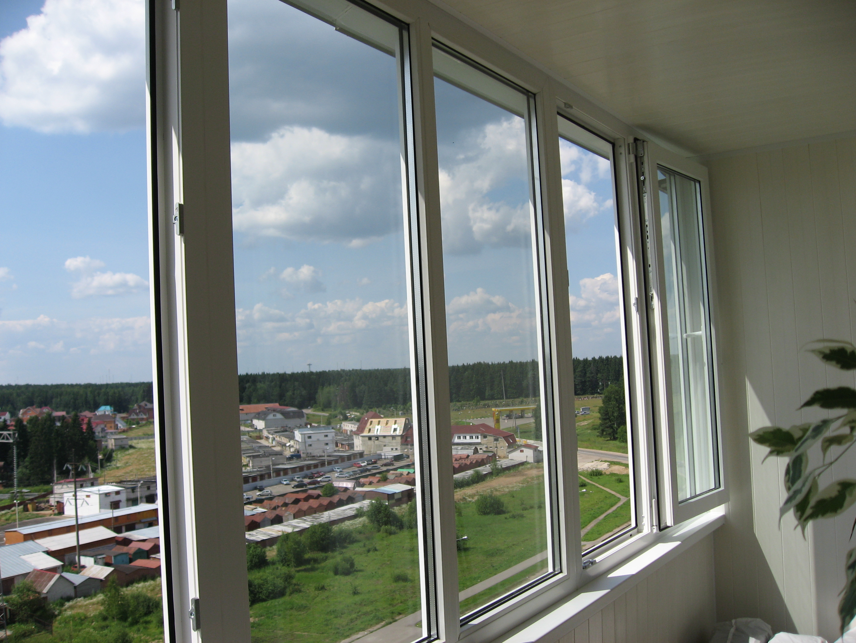 Остекление и отделка балконов и лоджий в лыткарино.