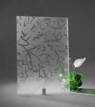 Узорчатое стекло «Айс БЦ»
