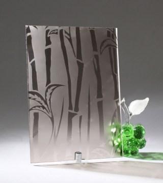 Узорчатое стекло «Бамбук БЦ»