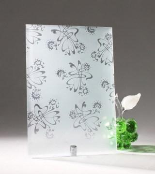 Узорчатое стекло «Букет БЦ»